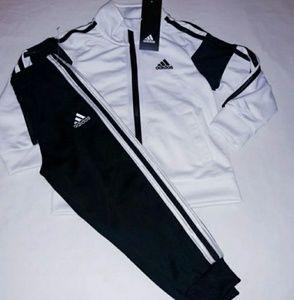 Adidas Boys 2pc Warmer Track Suit